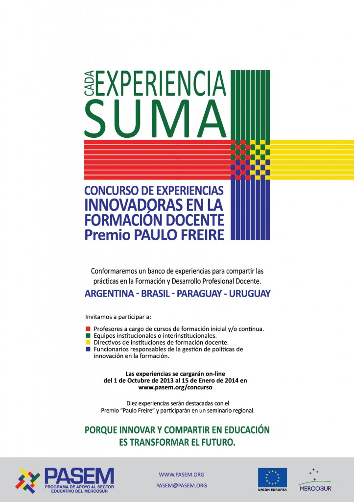 I Concurso de Experiencias Innovadoras en la Formación Docente