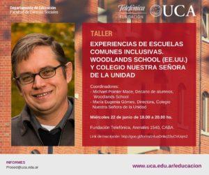 Taller Experiencias de Escuelas Comunes Inclusivas - Fundación Telefónica