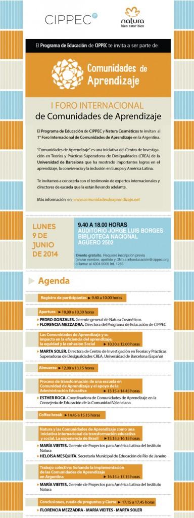 I Foro Internacional de Comunidades de Aprendizaje